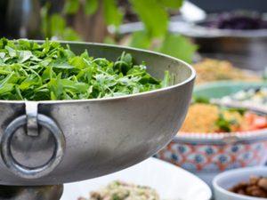 Salat Buffet für Catering